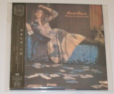 DAVID BOWIE - The Man Who Sold The World - TOCP-70142 Japan Import CD - AS NEW