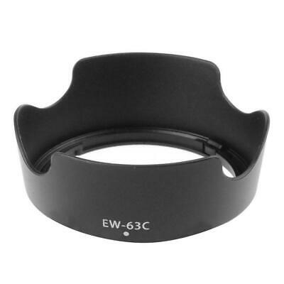 EW 63C EW63C Camera Lens Hood Shade For Canon EF S 18 55mm f/3.5 5.6 IS-STM N4H0