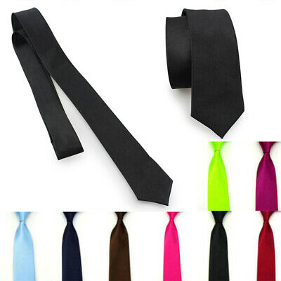 Man 5cm Skinny Necktie Tied Classic  Fashion Skinny Wedding Neck Ties style