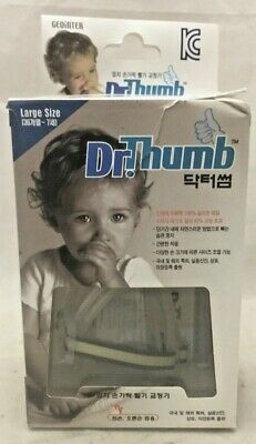 Dr Thumb for Thumb Sucking Prevention Treatment Thumb Large (3-7 Years) C24