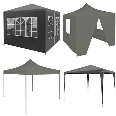 Foldable Pop up Party Tent 3x3 m Waterproof Outdoor Garden Gazebo Marquee Canopy