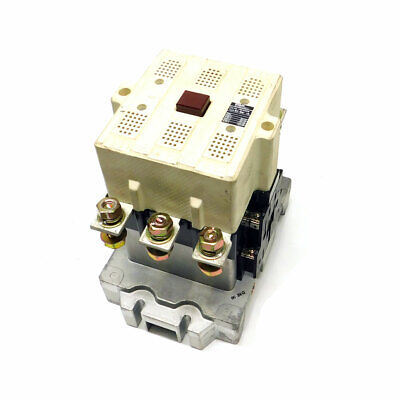 Fuji Electric Magnetic Contactor Block Type SC-8N/UL 575 V 125 HP Max 120V Coil