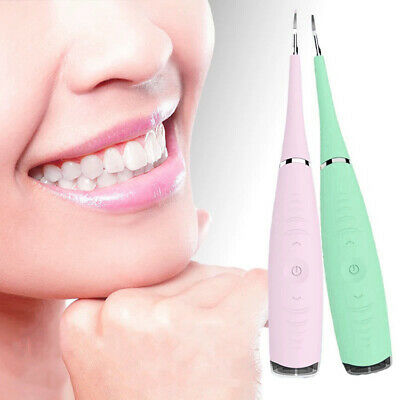 Electric Sonic Dental Scaler Tartar Calculus Remover Tooth Health Oral Care Tool