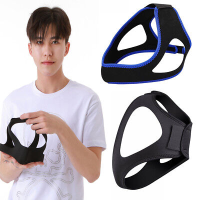 Stop Snoring Chin Strap Anti Snore Belt Apnea Jaw Support Solution Sleep Best