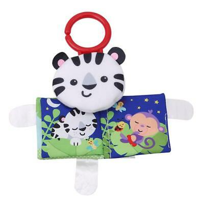 Baby Book Teether Learning Montessori Kid Children Toy Cloth GR