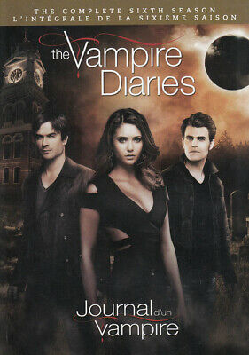 The Vampire Diaries - The Completo Stagione 6 (K Nuovo DVD