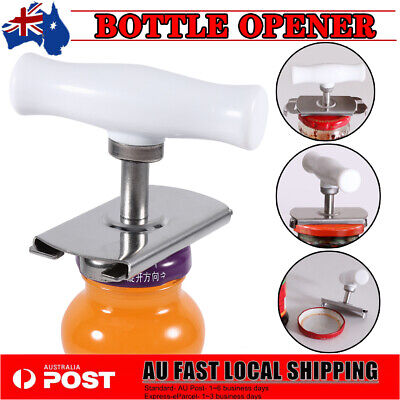 Can Opener SW Manual Kitchen Tool Jar Bottle Stainless Steel Adjustable Easy