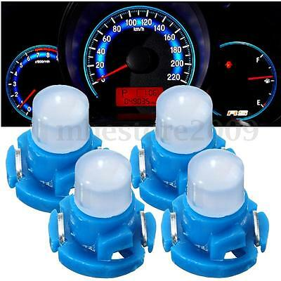 4x T4 Neo Wedge Climate Base LED Cluster Instrument Dash Bulb Light Lamp