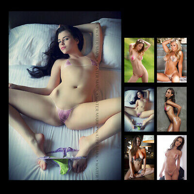"Z • 1757 Beautiful Sexy Models Hi Quality Glossy Paper Photo 4""x6"" Collectible"