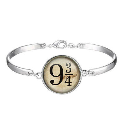 new Harry Potter Cabochon Tibetan silver Glass bracelet jewelry Bracelets