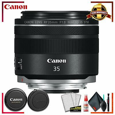 Canon RF 35mm f/1.8 is Macro STM Lens + Cleaning Kit