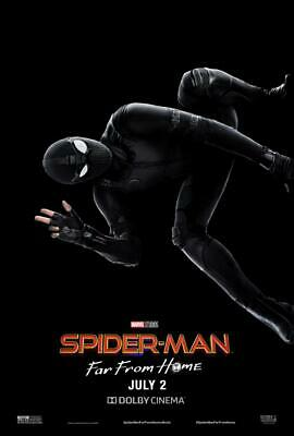 Tom Holland Spider-Man Far From Home Movie Poster 48x32 40x27 36x24 18x12/""