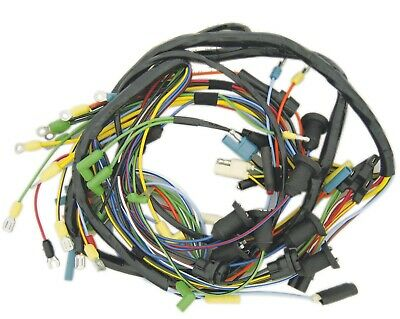 new main dash wiring harness 1966 ford fairlane 6 or 8 cyl engine