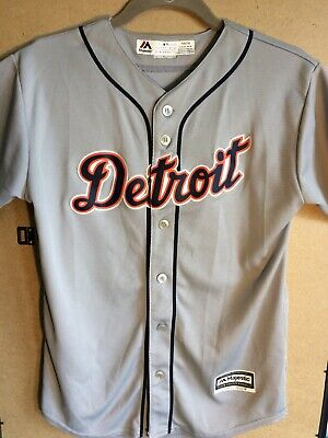 best service 7ddd3 7d4f7 MIGUEL CABRERA DETROIT Tigers MLB Road Jersey Youth L Majestic Cool Base