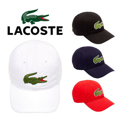 cf98a166c NEW MEN'S LACOSTE Rk4863-001 Small Croc Strapback Cap Dad Hat ...