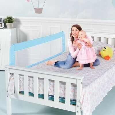 """59"""" Breathable Baby Children Toddler Bed Rail BB0454 WC"""