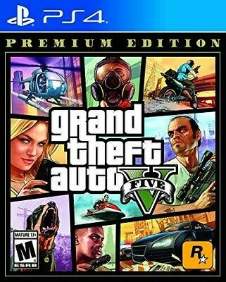Grand Theft Auto V Premium Online Edition for PlayStation 4 StandardEd