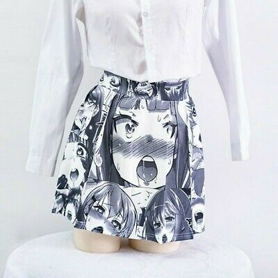 Lady Mini Skirt Short Pleated Flared Club Casual Party Japanese Cute Lolita Sexy