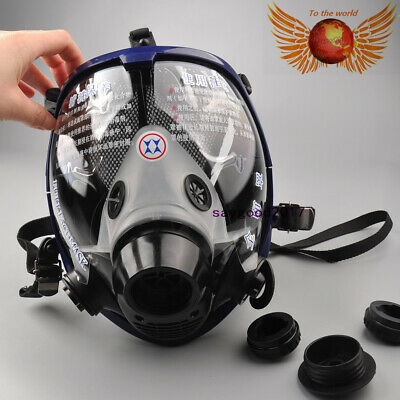 Full Face Facepiece Respirator Painting Spraying Gas/dust Safety Mask For 6800