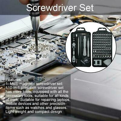 110 in 1 Magnetic Screwdriver Screw Driver Set PC Phone Electronic Device  Fix