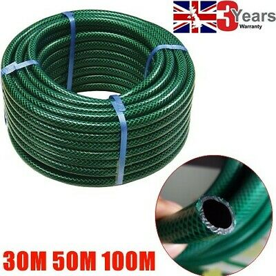 30M 50M 100M Durable Reinforced Garden Outdooe Pvc Hose Pipe Tube Top Quality