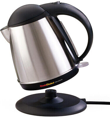 Kitchen Electric Kettle Coffee Water Boil 11 Cup Stainless Automatic Shut Off
