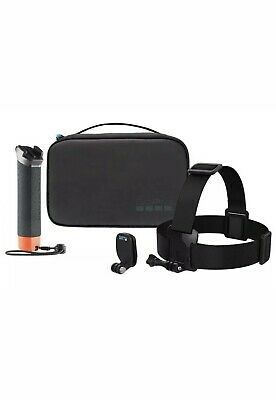 GoPro Adventure Kit Includes The Handler, Head Strap, QuickClip & Carry Case new