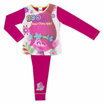 Dremworks Trolls Girls Pyjamas - Age 4-10 Years Various Designs