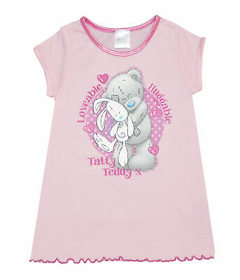Girls Me to You Tatty Teddy Girls Nightie Various Designs - Ages 2 to 8 Years