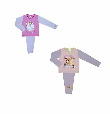 2 Pack Disney Girls Sofia the First Pyjamas Sizes 18 months - 4 years