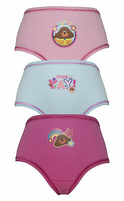 CBeebies Hey Duggee  Girls Pants / Knickers Various Designs 18months - 5 years