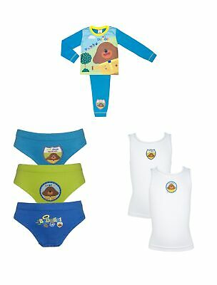 Hey Duggee Boys Pyjama and Underwear Set 18 Months - 5 Years