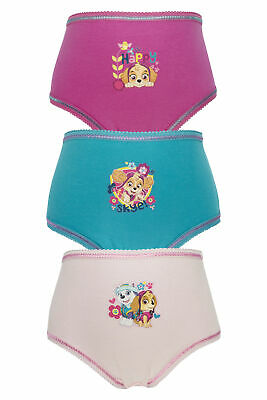 Girls Paw Patrol Pants / Knickers 3 Pack - Age 18 Months to 5 Years