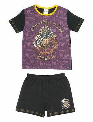 Girls Harry Potter Pyjamas Shortie Pyjama Set - 5-12 Years Various Designs