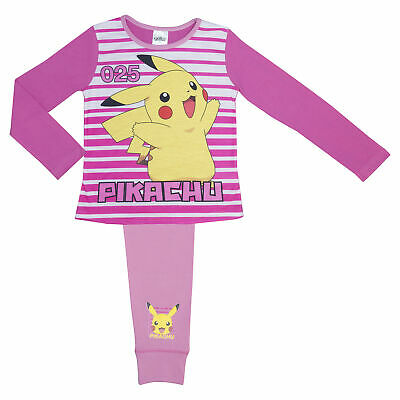 Girls Pokemon Pyjamas Ages 5-12 Years