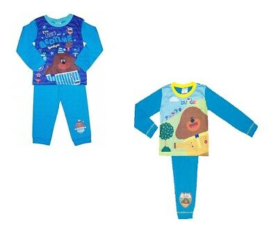 2 Pack Boys Hey Duggee Pyjamas Size 18 Months - 5 Years