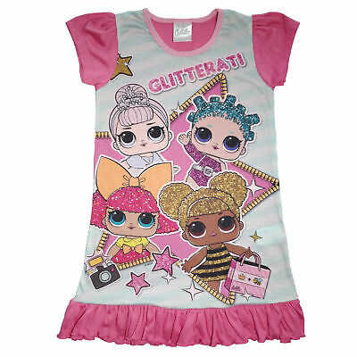 Girls LOL Surprise Nightie - Ages 4 to 10 Years Various Designs
