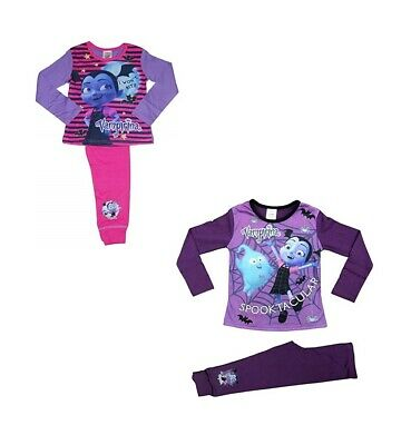 2 Pack Vampirina Girls Pyjama Set - Age 2-8 Years Various Designs