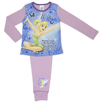 Girls Tinkerbell Pyjamas Ages 4-12 Years Various Designs