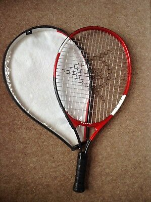 Red and Black Dunlop Classics 21 Tennis Racket