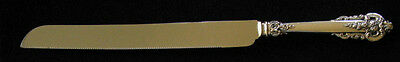 Wallace Grande Baroque Sterling Wedding Cake/Bread Knife
