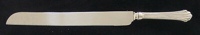 Kirk Homewood Sterling Wedding Cake/Bread Knife
