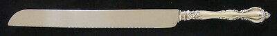 International Grande Regency Sterling Wedding Cake/Bread Knife