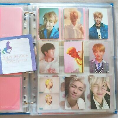 BTS RM official photocard love yourself her tear answer map of the soul persona