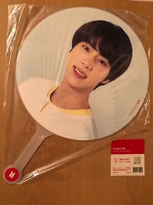 Official Bts Love Yourself World Tour Image Picket Fan Jin Seokjin