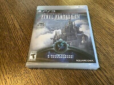 FINAL FANTASY XIV Online: A Realm Reborn (PC, 2015) *Factory Sealed