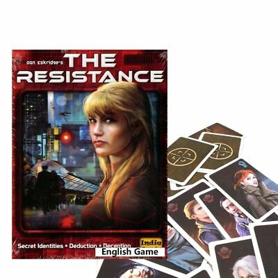The Resistance game for adult another COUP series board game cards English