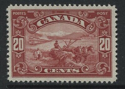 Canada 1929 20 cents Harvester unmounted mint NH
