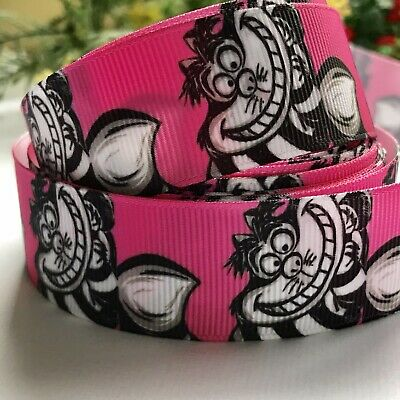 Cheshire Cat 1 Metre 25mm Crossgrain Ribbon/ Craft / Hair Ties/Dummy Clip