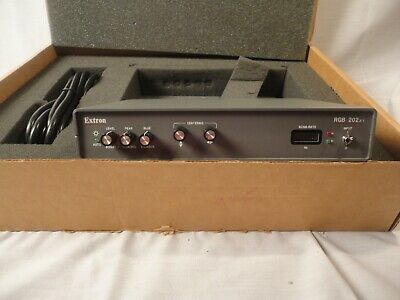 NEW Extron RGB 202xi  Universal Analog / ECL / TTL System Interface With ADSP